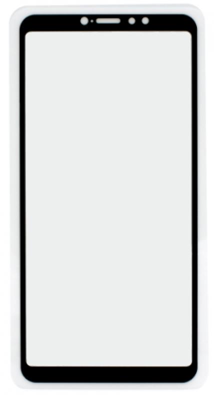Защитное стекло для Xiaomi Mi Max 3 с рамкой 9H Full Glue без упаковки