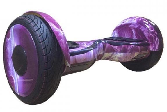 Гироскутер Smart Balance 10,5, Фиолетовые Облака каркам км 12 5 14