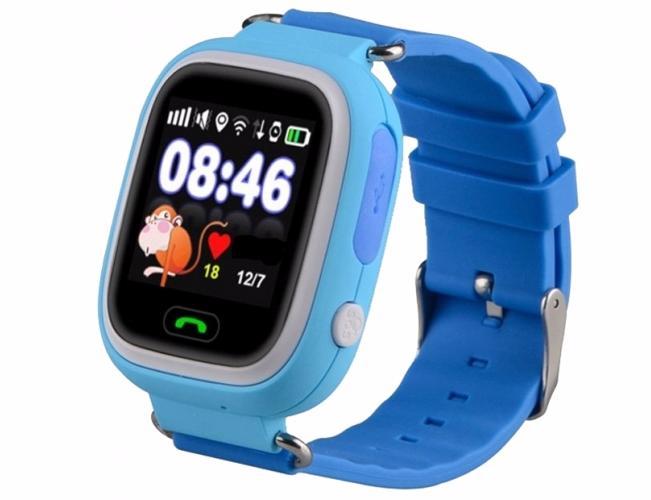 Smart Baby Watch КАРКАМ Q80 голубые от КАРКАМ