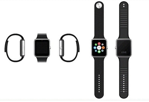 SMART WATCH GT08 SILVER от КАРКАМ