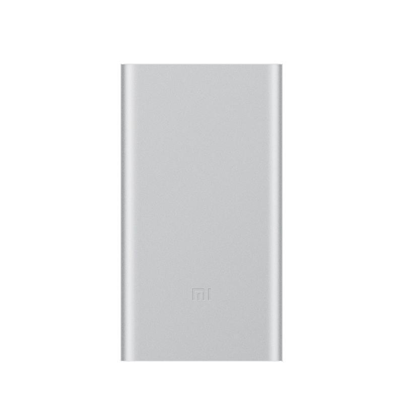 Xiaomi Mi Power Bank 2 10000mAh silver аккумулятор xiaomi power bank ndy 02 an vxn4110cn 10000 mah silver
