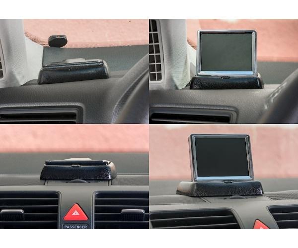 """Автомобильный монитор 3.5"""" раскладной от КАРКАМ"""