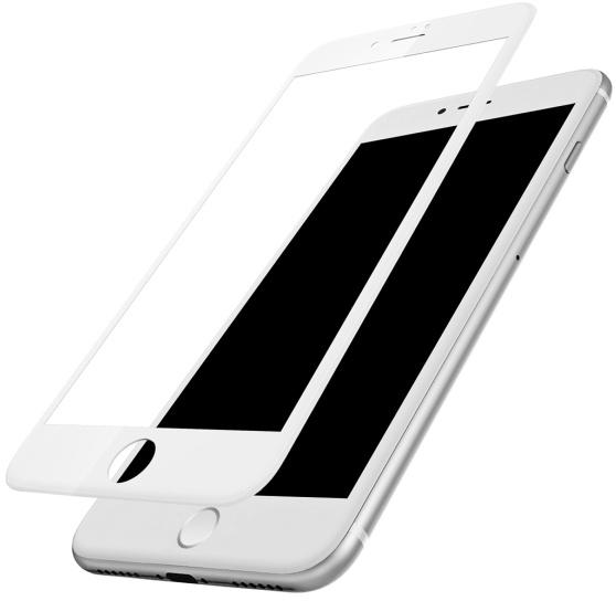 Защитное стекло для iPhone 7/8 5D 0.3mm без упаковки белый фото
