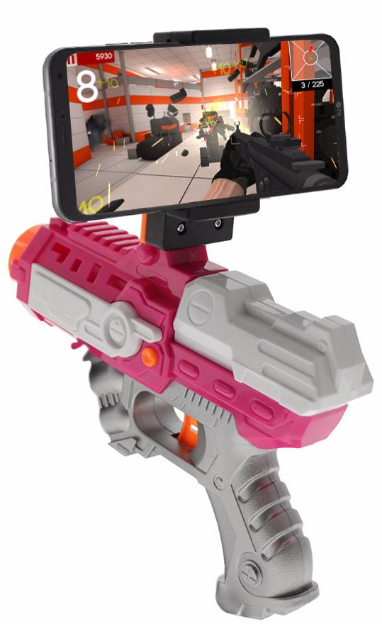 Intelligent ar gun AR81-1 pink intelligent ar gun ar81 1 pink