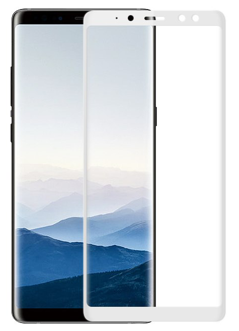 Защитное стекло для Samsung A8 (2018) 5D Full Face фото