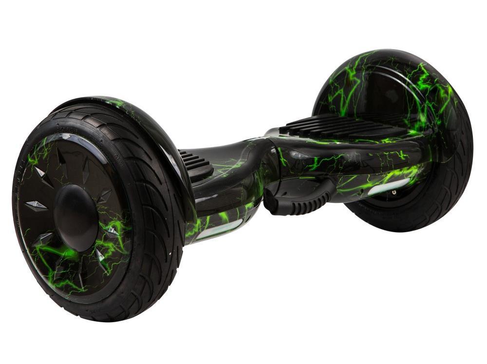 Гироскутер Smart Balance 10,5, Зеленая Молния гироскутер smart balance 10 5 дюймов внедорожник хаки