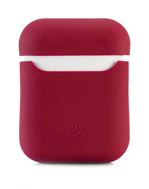 Чехол Airpods Silicon Case - красный