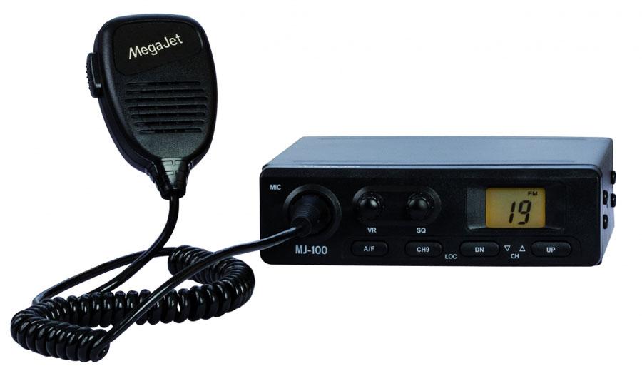 MegaJet MJ-100 автомобильная радиостанция megajet mj 500