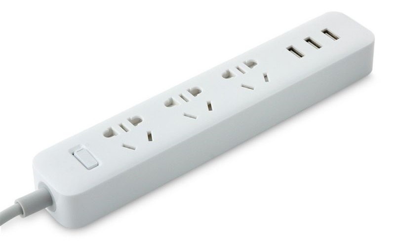 Купить Xiaomi Mi Power Strip 3 Sockets White, КАРКАМ