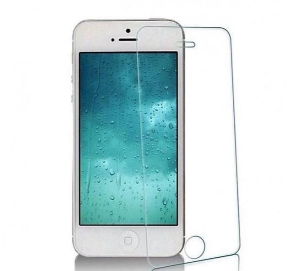 Защитное стекло iPhone 5/SE прозрачный ТЕХПАК