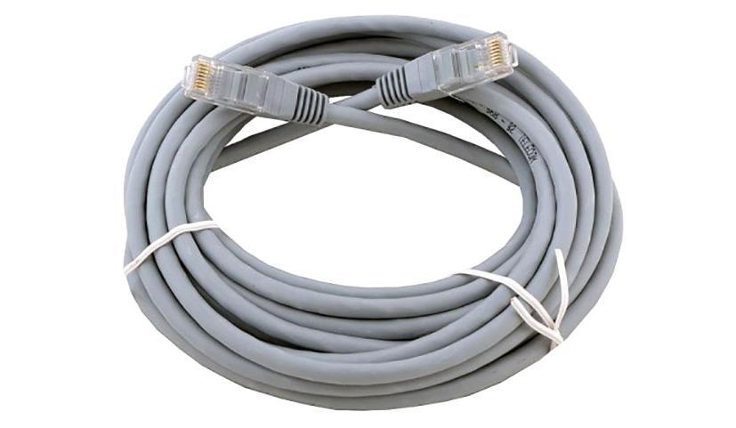 Купить Патч-корд Technolink UTP4 cat.5e, 5.0м, литой коннектор, серый, КАРКАМ