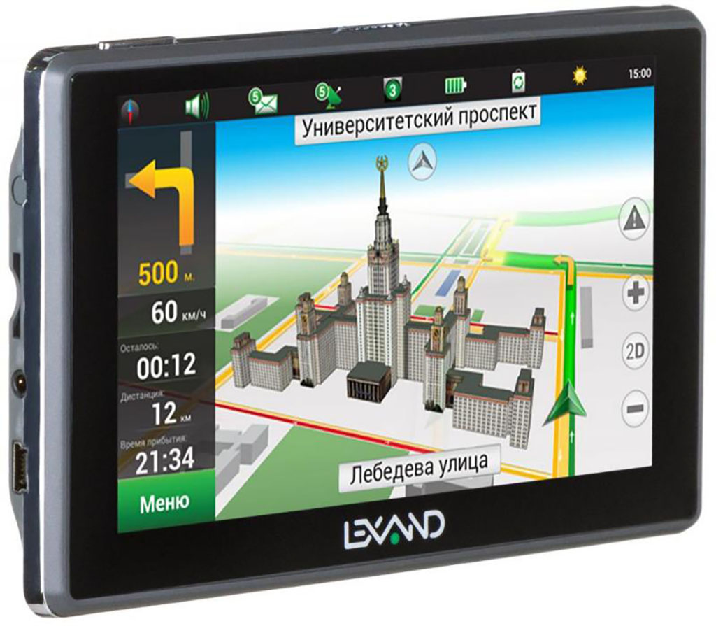 GPS Навигатор Lexand SA5 +