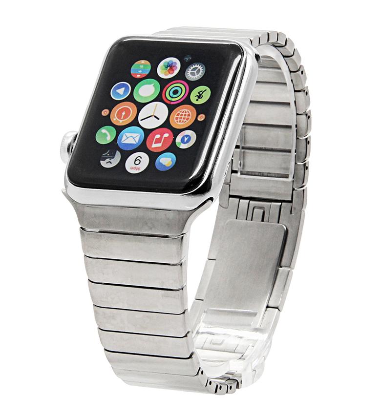 Ремешок для Apple watch 42mm Link bracelet серебро фото