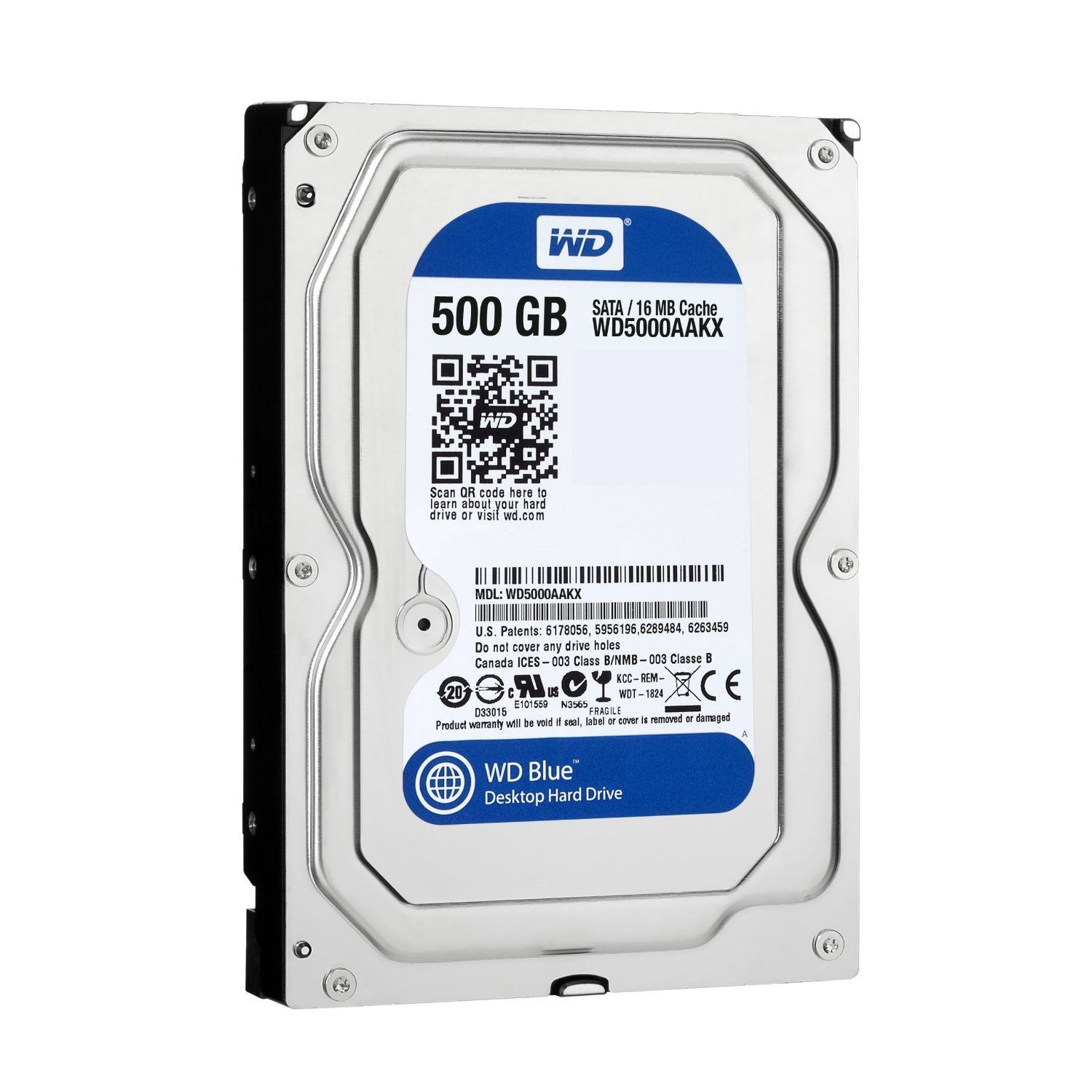 Western Digital HDD 500GB от КАРКАМ