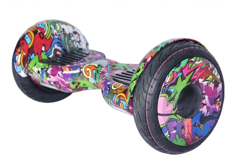 Гироскутер Smart Balance 10,5, Фиолетовое Граффити 6 5 adult electric scooter hoverboard skateboard overboard smart balance skateboard balance board giroskuter or oxboard