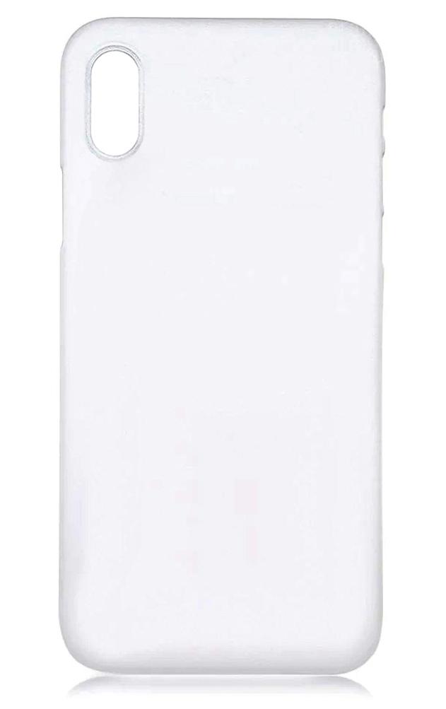 Чехол для iPhone XS Max силиконовый ультратонкий 0.5mm прозрачный