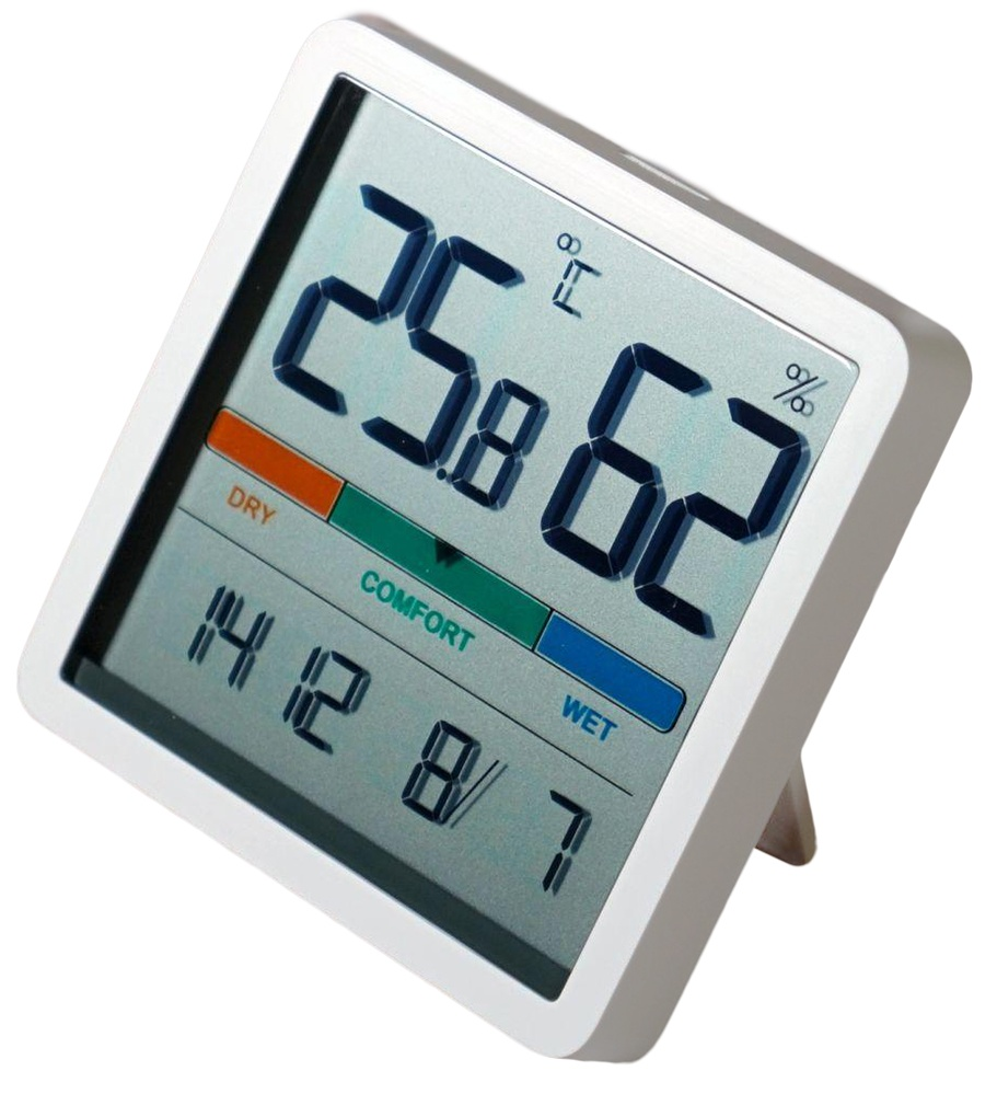 Xiaomi Miiiw Mute Thermometer And Hygrometer Clock NK5253 КАРКАМ