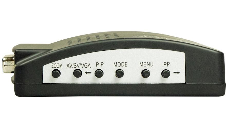 Конвертор BNC-VGA Каркам разъём bnc под винт с колпачком прямой