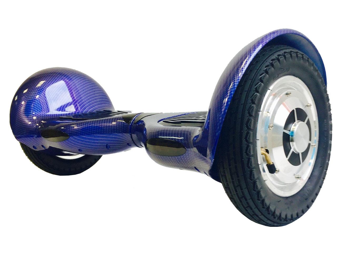 """Гироскутер Smart Balance 10"""" Синий Карбон от КАРКАМ"""