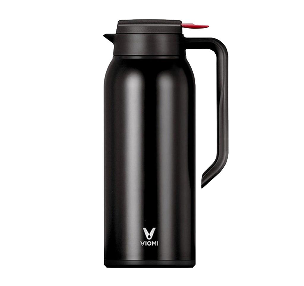 Купить Xiaomi Viomi Steel Vacuum Pot 1.5L Black, КАРКАМ