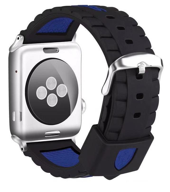 Ремешок для Apple watch 42mm Силикон синий фото