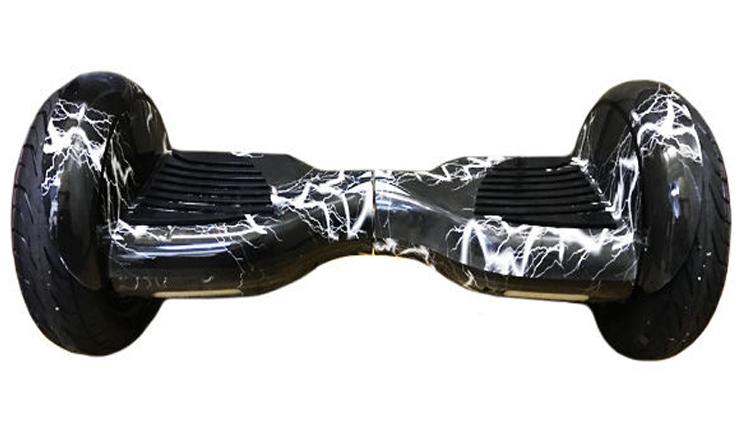 Гироскутер Smart Balance 10,5, Черная молния гироскутер smart balance 10 5 дюймов внедорожник хаки