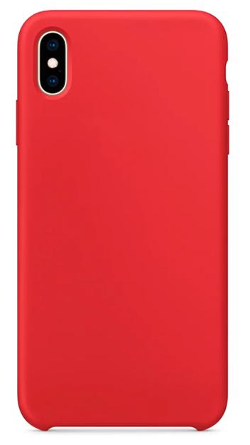 Чехол для iPhone XS Max Silicon case Apple WS красный фото