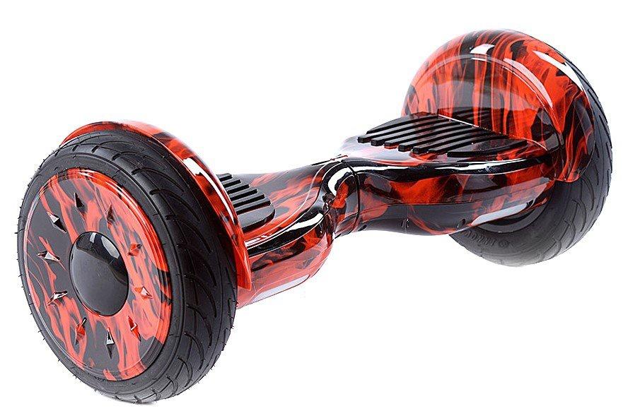Гироскутер Smart Balance 10,5, Красное Пламя гироскутер smart balance 10 5 дюймов внедорожник хаки