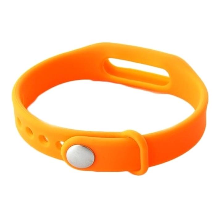 Сменный браслет для Mi Band, Оранжевый от КАРКАМ