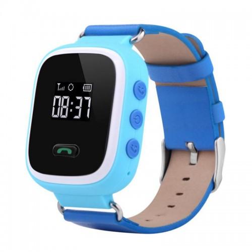 Smart Baby Watch КАРКАМ Q60 голубые smart baby watch q60s детские часы с gps голубые