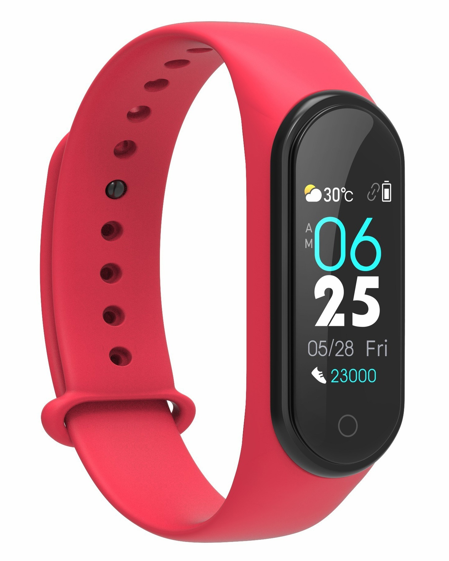 CARCAM SMART BAND M4 - Red фото