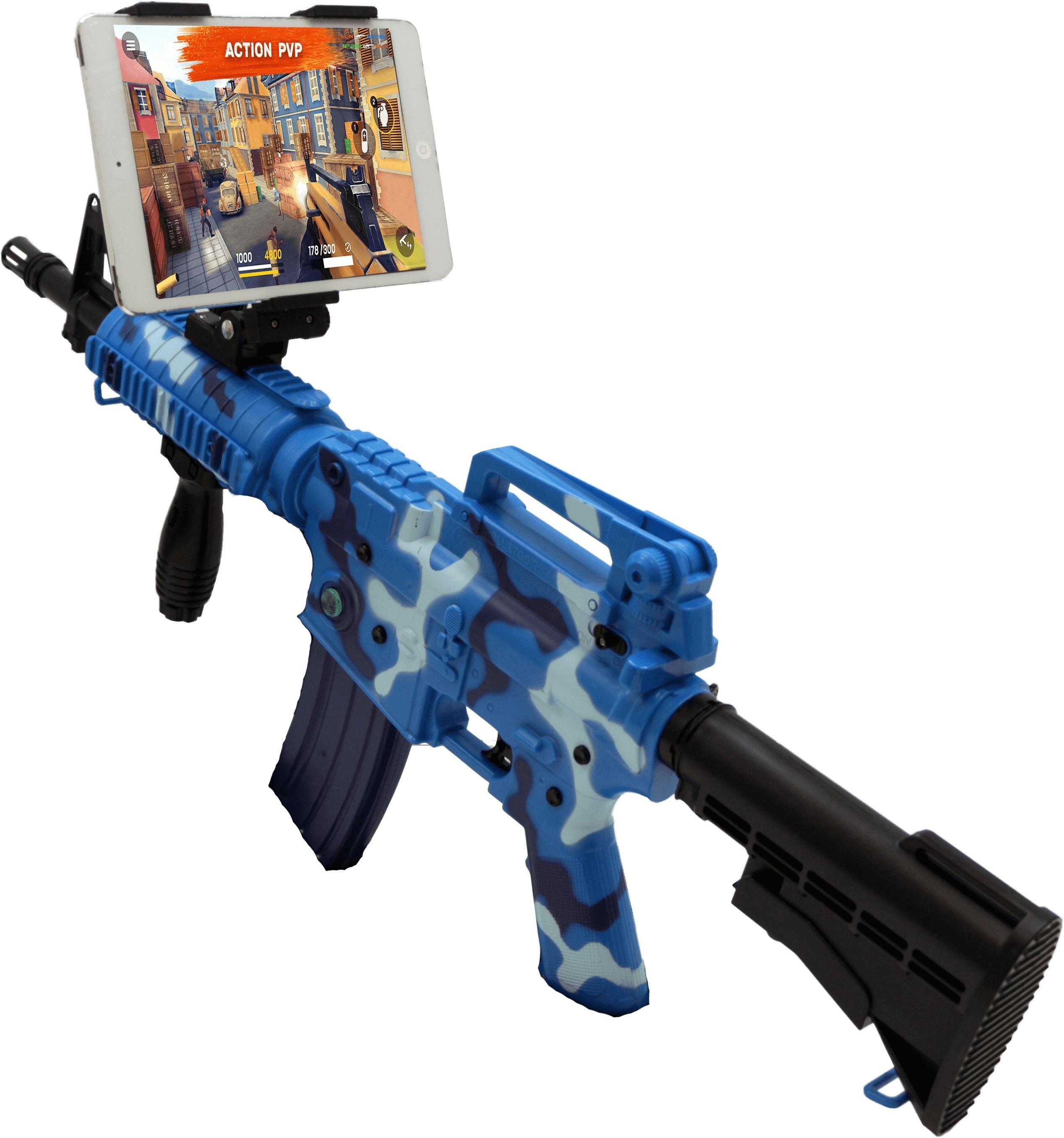 Фото Intelligent ar gun AR47-1 Camouflage blue intelligent ar gun ar82 1 red