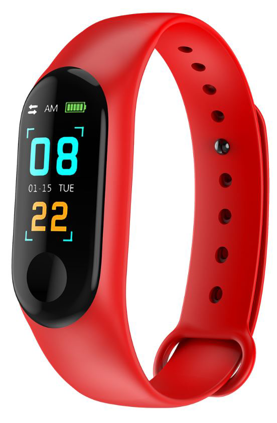 Carcam Smart Band M3 - red фото