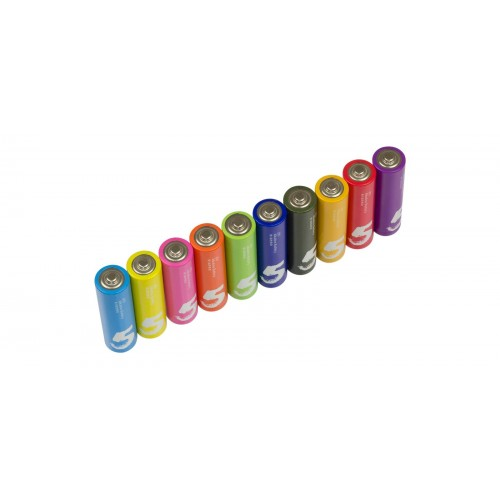 Батарейки алкалиновые  ZMI ZI5 Rainbow AA batteries (10 шт.)