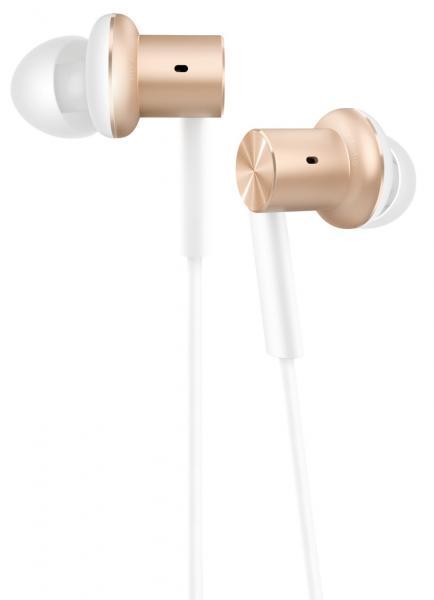 Xiaomi Mi In-Ear Headphone Gold xiaomi mi 5s 3gb 64gb smartphone gold