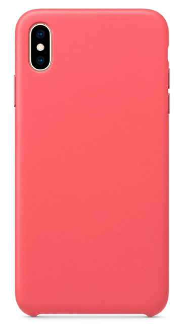 Чехол для iPhone XS Max Silicon case Apple WS розовый фото