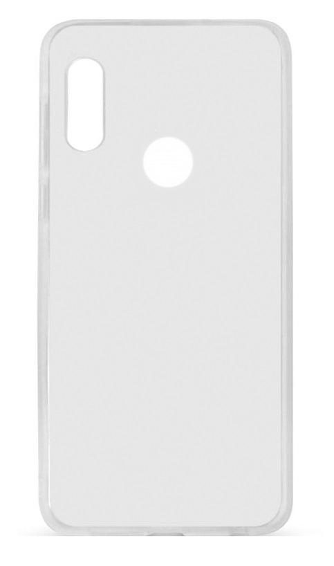 Чехол для Xiaomi Mi 8 SE силиконовый плотный 1mm прозрачный фото