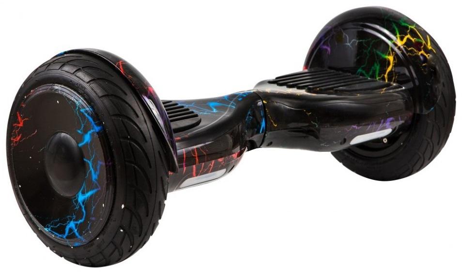 Гироскутер Smart Balance 10,5, Цветные лучи каркам км 12 5 14