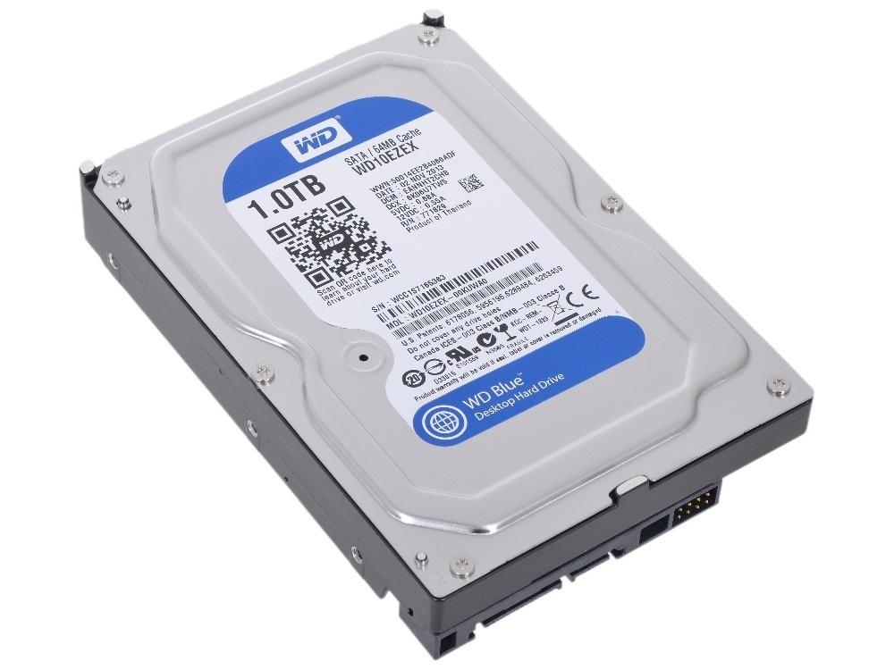 Western Digital HDD 1TB фото