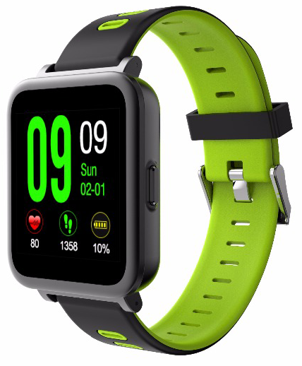 Купить CARCAM Smart Watch SN10 Green, КАРКАМ