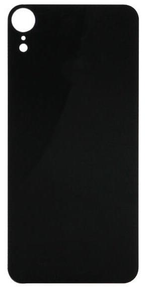 Защитное стекло для задней панели iPhone XR черный ТЕХПАК