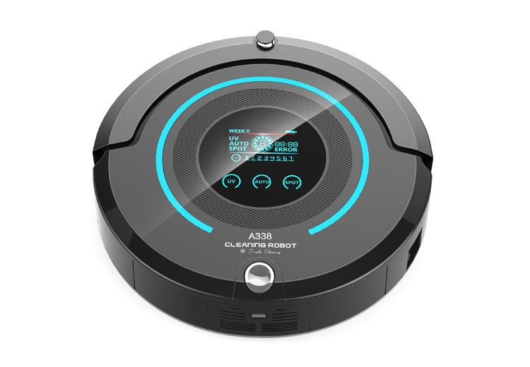 CLEANING ROBOT A338 household ultrasonic cleaning machine washing contact lens jewelery watch cleaning machine