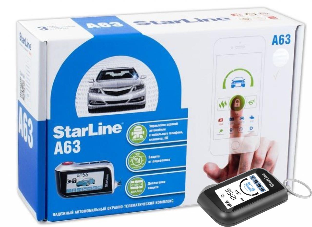 STARLINE A63 иммобилайзер starline i92 lux
