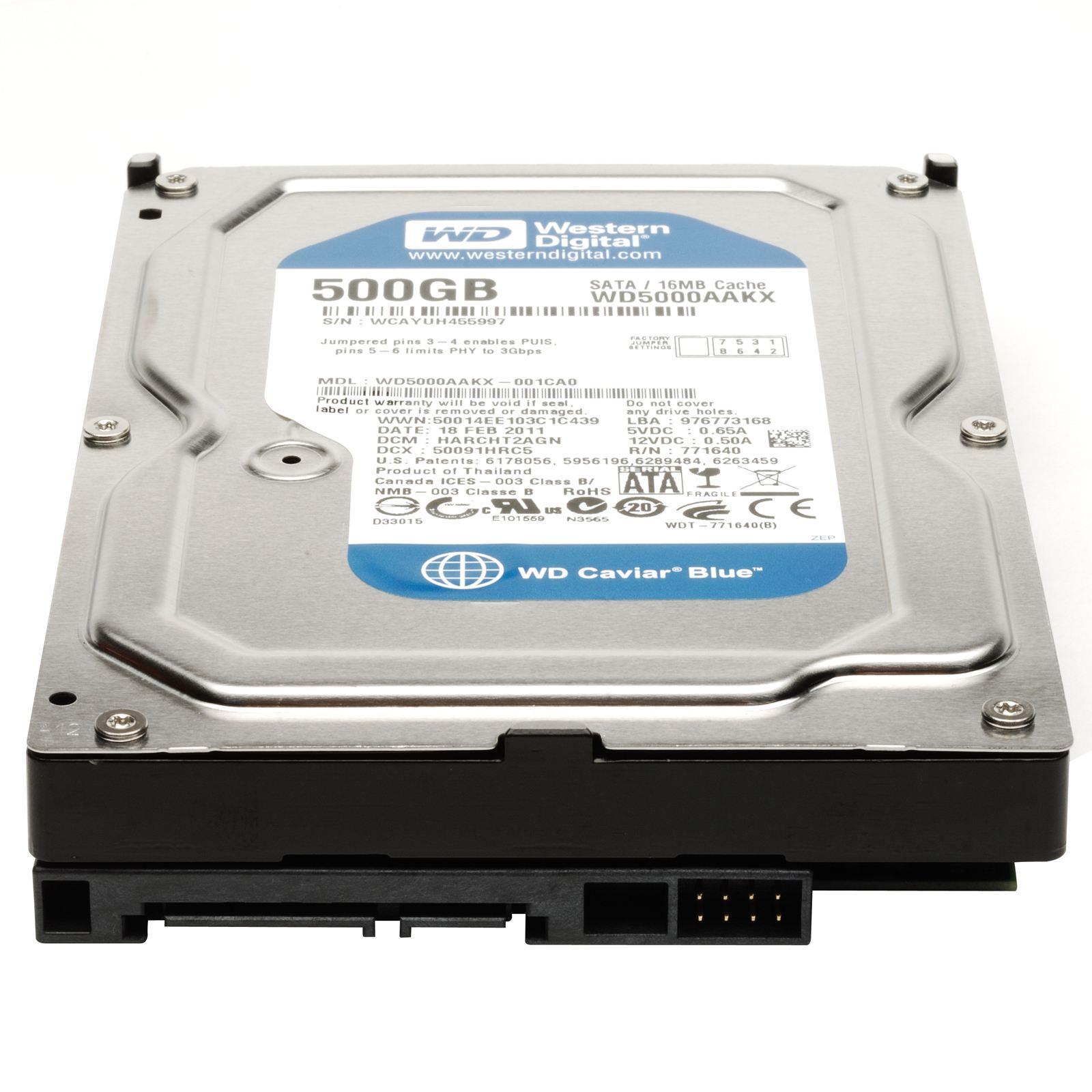 Жесткий диск 500Gb SATA от КАРКАМ