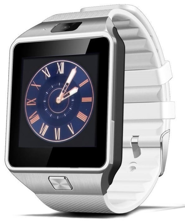 CARCAM SMART WATCH DZ09 White  фото