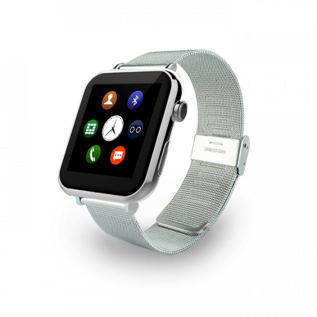 SMART WATCH A9 SILVER - Сталь smart baby watch каркам q60 голубые