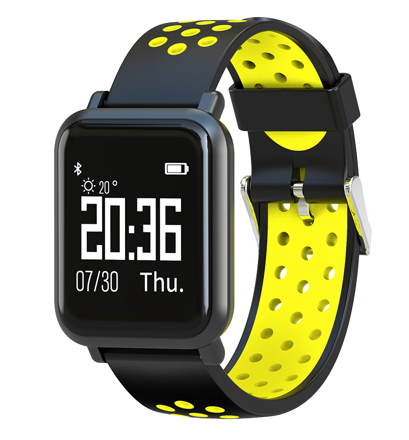 Купить CARCAM Smart Watch SN60 Yellow, КАРКАМ