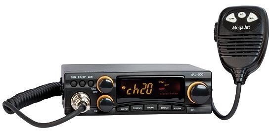 MegaJet MJ-600 автомобильная радиостанция megajet mj 500