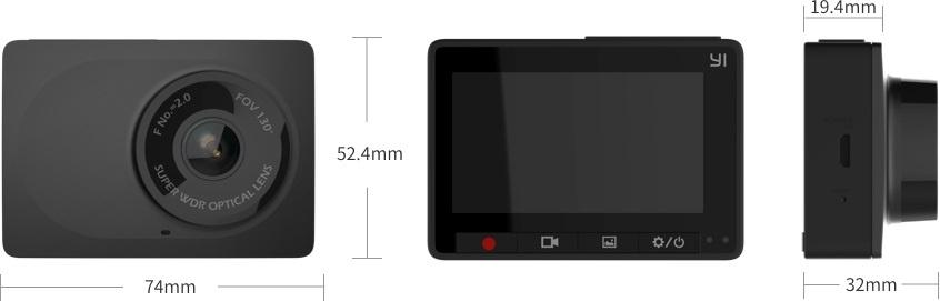 YI Compact Dash Camera от КАРКАМ