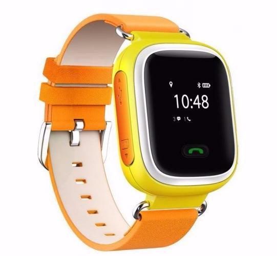Smart Baby Watch КАРКАМ Q60 оранжевые smart baby watch g72 умные детские часы с gps оранжевые